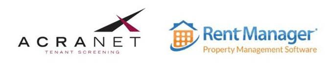 Acranet and Rent Manager logos
